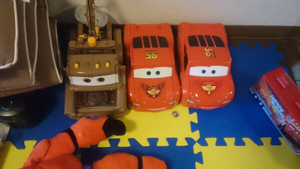 カーズ(cars)のおもちゃで息子が長く遊んでハマったランキング