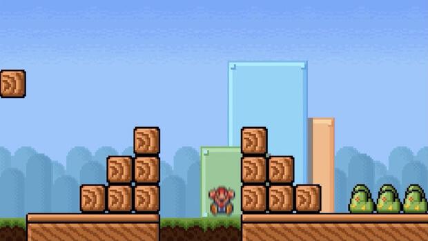 閲覧注意!スーパーマリオ死後の世界を実写で再現!超怖い動画