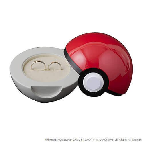 ポケモン好きな彼女に指輪をプレゼントならモンスターボールの中にいれてみては?