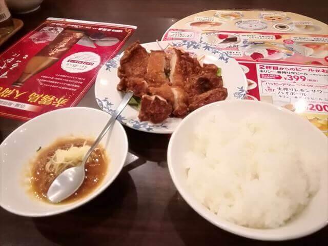 バーミヤン|「台湾屋台風ダージパイ」と「2油淋鶏」どっちが美味しい