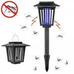 最安値はココだ!Auding 電撃殺虫器 捕虫器 UV光源吸引式殺虫器 LEDソーラー蚊取りライト!