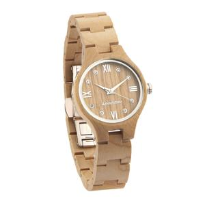 1種類目 メープルウッドの腕時計