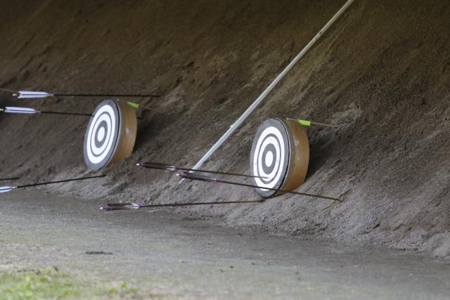 弓道で的に当たらない人必見!半年で的中率を高める4つの方法!