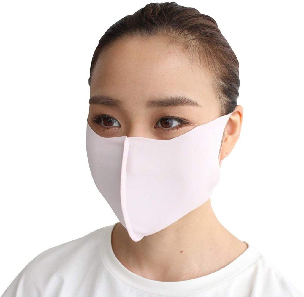 2位 [レクール] lecur マスク 洗える 日本製 夏用 男女兼用 センターフレーム付き版