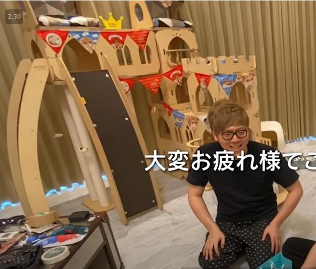 佐藤健がヒカキンにあげた猫のお城はいくら?どこで買える?